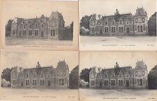 Lot 4 cartes postales anciennes CHÂLONS-SUR-MARNE caisse d'épargne 1