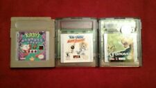 Gameboy Color 3 Games Lot - Auth.