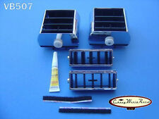NEW 71-72 CHEVELLE EL CAMINO DASH AIR A/C VENT REBUILD KIT