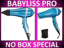 NEW BABYLISS PRO NANO TITANIUM 2000 WATT CERAMIC BLUE HAIR BLOW DRYER BABNT5548