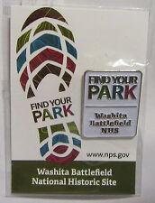 National Park Service Centennial Find Your Park Washita Battlefield NHS Pin