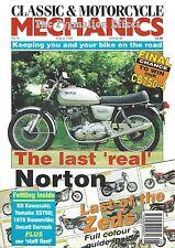 Classic & Motorcycle Mechanics August 1993 - Norton 850 Commando Electric Start
