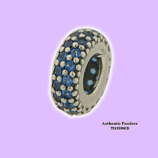 Authentic PANDORA Spacer Inspiration Midnight Blue Crystal 791359NCB