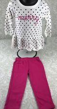 NWT Carter's Toddler Girl 18 M Merry Sweater Leggings Outfit Set Christmas