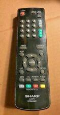 SHARP 076B0MQ051 LCDTV REMOTE CONTROL ORIGINAL LC22SB24U, LC22SB28UT, LC19SB27UT