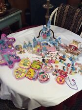 Vintage Polly Pocket Cinderella Enchanted Castle/Hard Compacts/ Figures/ETC