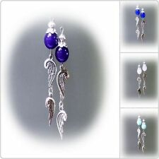 Drop/Dangle Stone Tibetan Silver Handcrafted Earrings