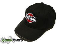 Nissan Datsun Black Adjustable Cap Baseball Hat NIS08006400