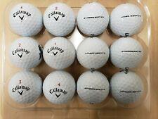 12 Used AAAA/Near Mint Condition Callaway Chrome Soft X Golf Balls