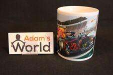 Coffee Mug 2018 Red Bull Racing RB14 #33 Max Verstappen Mexico by Toon Nagtegaal