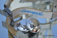 Pedals Staubkappen Dust Caps for campagnolo C Record or Chorus Track Pista NEW