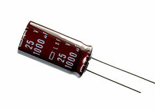10pcs Nippon ChemiCon LXF 1000uF 25v 105C Radial Electrolytic Capacitor NCC