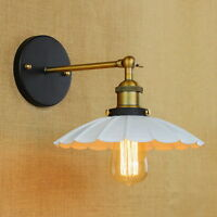 Antique Reto Swing Arm Wall Lamp Illumination Sconce Lights Lighting Fixtures