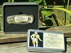 Free Mason Prince Hall Pocket Knife Square Compass Grand Master NEW!