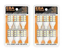 (2) 6 pks Replacement LED Bulb 921 Wedge Base Tower Nat Wht 12V092127-02