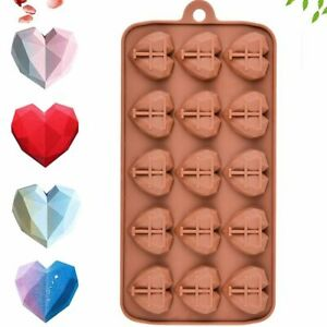 Resin Candy Gummy Heart Molds Cake Decorations Chocolate Mold Fondant Tool