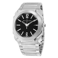 Bvlgari Octo Solotempo Automatic Black Dial Mens Watch 102031