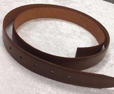Fashion Men's Genuine Leather Tan Brown Belt 47""