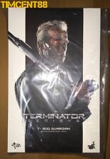 Ready! Hot Toys MMS307 Terminator Genisys T-800 Guardian Arnold Schwarzenegger
