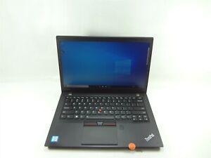 "Lenovo T460s 14"" Laptop 2.4GHz Core i5 256GB NVME 8GB RAM Windows 10 Pro Grade B"