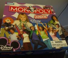 Monopoly Jr DISNEY CHANNEL EDITION plus Answer Bingo Time and Money Game
