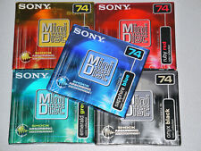 5 x Sony MDW 74 - MD74 - MiniDisc - Shock Absorbing Mechanism - NEU in OVP