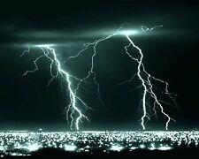 Lightning Strike 8 x 10 / 8x10 GLOSSY Photo Picture IMAGE #3