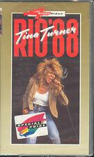 TINA TURNER - RIO '88 - VHS (NUOVA SIGILLATA)