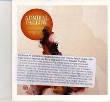 (DI734) Admiral Fallow, The Paper Trench -  DJ CD