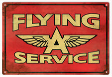 Flying A Service Sign Natsalgic Signs
