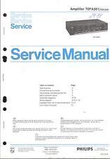 Philips original manual de servicio para 70 fa 561