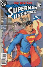 SUPERMAN UNCHAINED (2013) #2 DODSON VARIANT!! (Jim Lee & Scott Snyder)