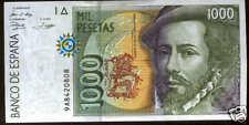 1000 pesetas 1992 Hernan Cortes @@ PLANCHA @ 9 A @