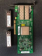 DELL 06T94G QLOGIC QLE2562-DEL HBA 8GB PCI-E HOST BUS ADAPTER  With Two SFPs