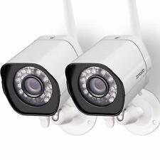 Zmodo ZM-W0002-2 Smart Wireless HD IP Wireless Network IR-cut Security Cameras