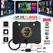 Antenna TV Digital HD Skywire 4K 300 Mile Range Antena Digital Indoor HDTV 1080p
