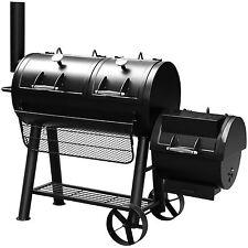 """Smoker Holzkohlegrill """"MINNESOTA"""" von El Fuego® Grill BBQ Grillwagen Barbecue"""