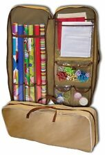 "MASTER CRAFT, Giftwrap Storage Bag, 37""x14""x4"", Zippered Durable Bag"