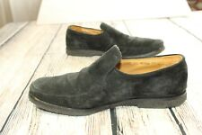 Mens BALLY HAVANNA slip on suede loafers Sz 10.5 EEE Switzerland BG2