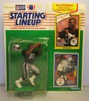 1990 TIM BROWN Starting Lineup (SLU) Football Figure - LOS ANGELES RAIDERS