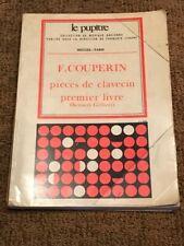 François Couperin, Harpsichord pieces, first book (Kenneth Gilbert) LP.21 HEUGEL
