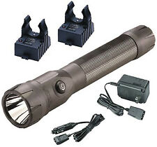 Streamlight Flashlight Polystinger Ds Black Ac/Dc Charg
