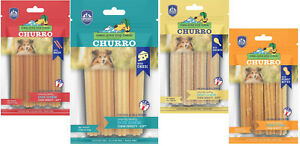 Himalayan Yaky Churro 4oz Pet Snack Treats All Flavors USA Made yackyChurro