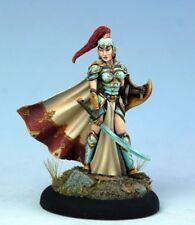 DARK SWORD MINIATURES - DSM7414 Female High Elf Warrior w/Sword & Shield