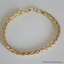 Bracelet Or 18k 750 Maille Palmier - 11.05 Grs - Bijoux occasion