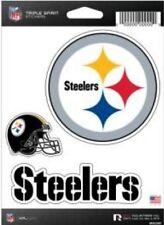 Pittsburgh Steelers Triple Spirit 3 Die Cut Decals Car Window Tumbler Laptop