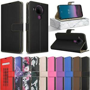 For Nokia 5.4 2.4 3.4 5.3 1.3 2.3 7.2 8.3 Leather Wallet Stand Phone Case Cover