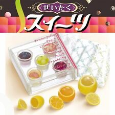 Re-ment Elegant Sweets, #3- Fruit Jellies, 1:6 Barbie scale kitchen food minis
