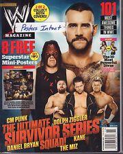 WWE Magazine November 2012 CM Punk, Dolph Ziggler, Kane 040317nonDBE