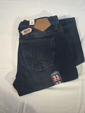 Mens Jeans NEW TIN HAUL JAGGER 33X32  Regular Distressed 10-004-1660-1205 BU